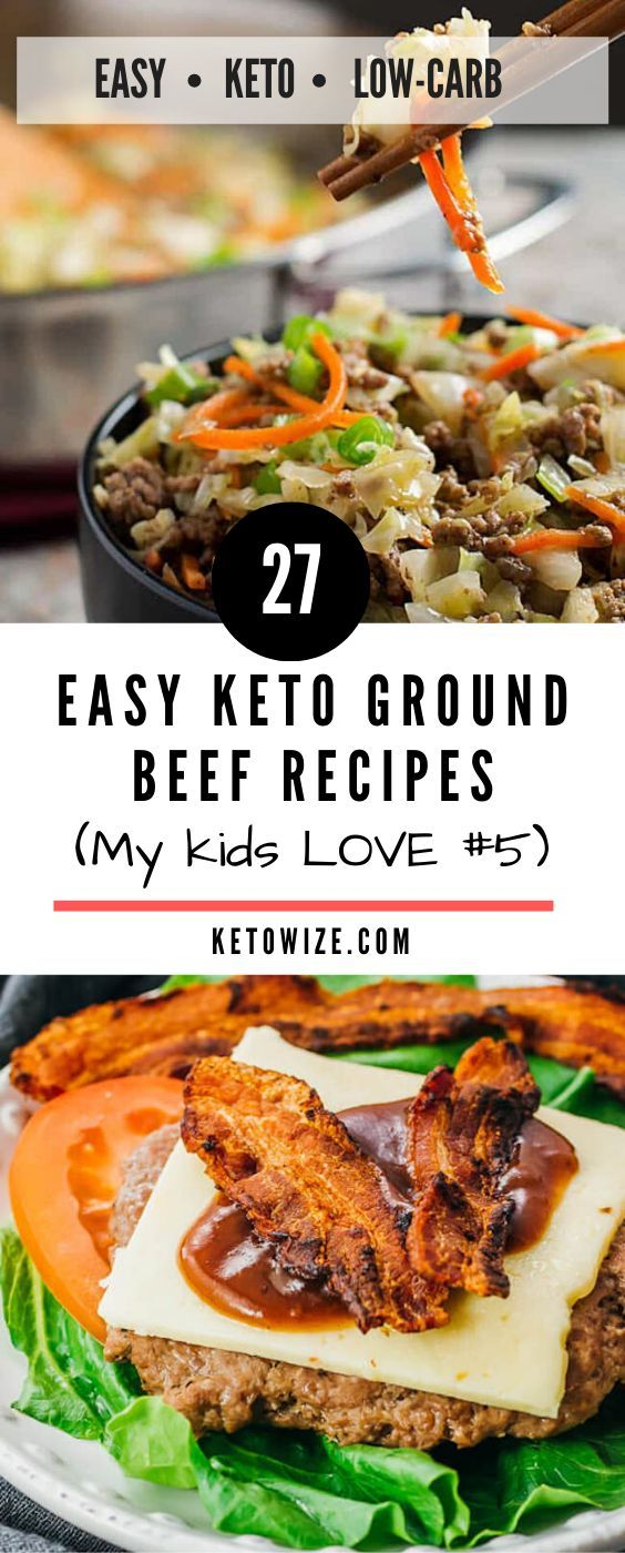 27 Easy Keto Ground Beef Recipes (My kids LOVE #5) | Beef ...