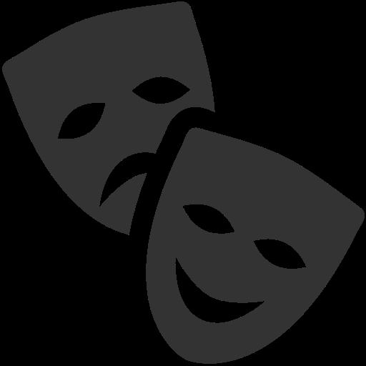 Resultado de imagem para máscaras de teatro png