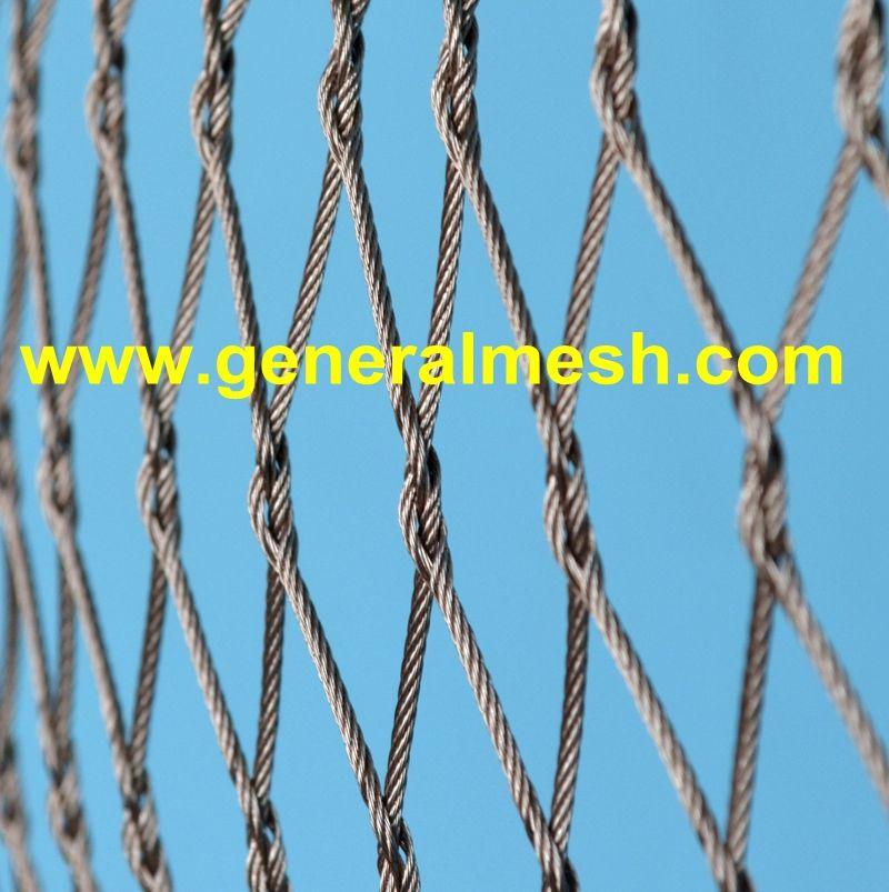 X Tend Inox Kabelnettet Spesifikasjoner Forskjellige Kabeldiameter 1 2 Til 4 0 Mm Forskjelli Stainless Steel Balustrade Stainless Steel Stainless Steel Cable