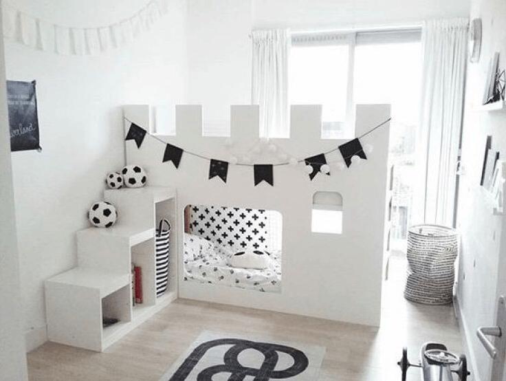 Letto A Castello Ikea Kura.Castello Ikea Kura Letto Kidsroomideas Kid Room Decor Mommo