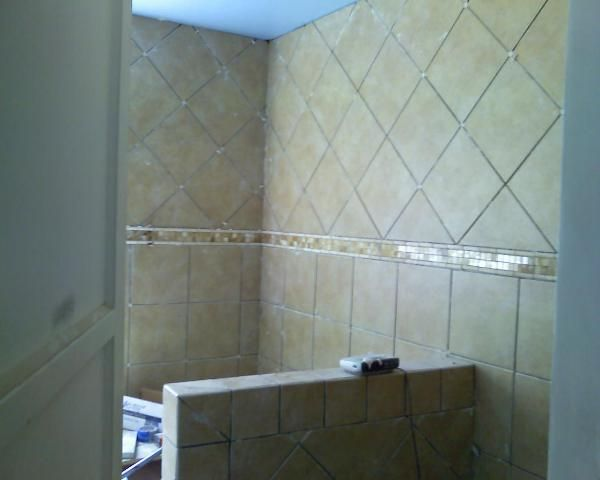 Exquisite 12x12 Chantilly Eq11 Brick Joint Wall Tile Patterned Bathroom Tiles Bathtub Walls Shower Tile