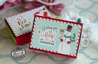 Snowman Matchbox by Betsy Veldman for Papertrey Ink (September 2015)