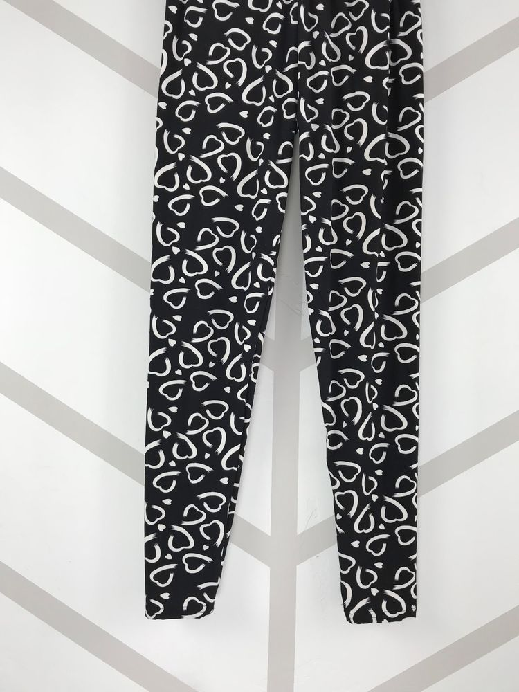 47cbdba8306540 Cute Paint Brushed Hearts! One Size Black Background OS Leggings Buttery  Soft #fashion #clothing #shoes #accessories #womensclothing #leggings (ebay  link)
