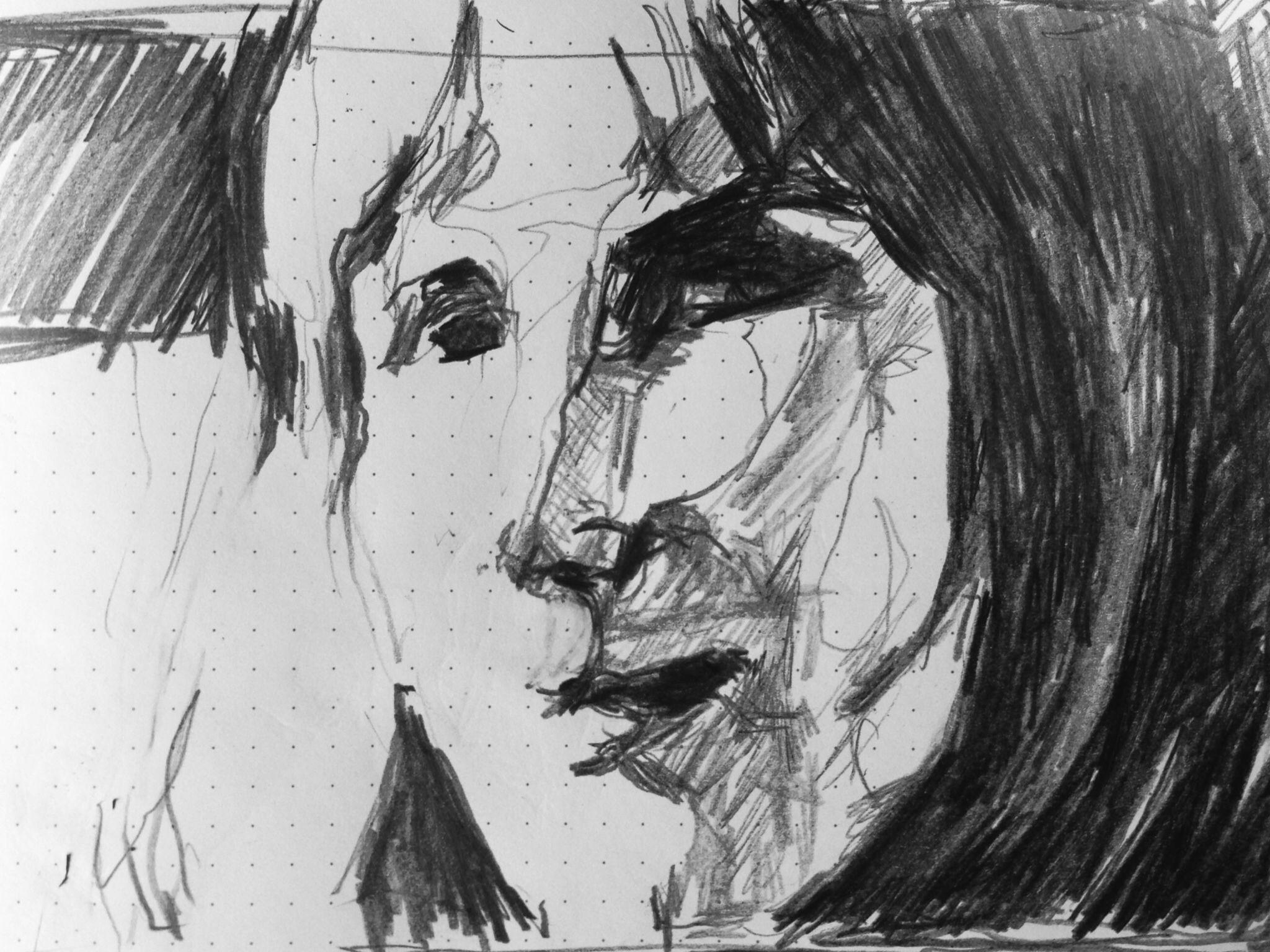 Graphite - paper (Sketch)
