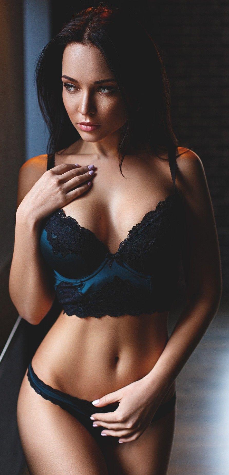 Sweet adri black lingerie
