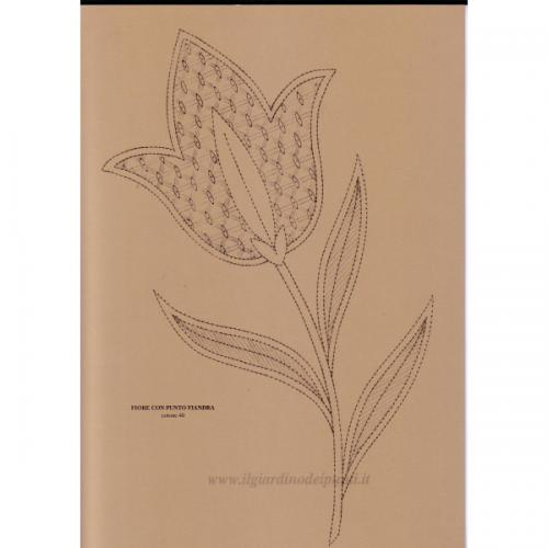 Photo of Fiore con Fiandre punto n. 138