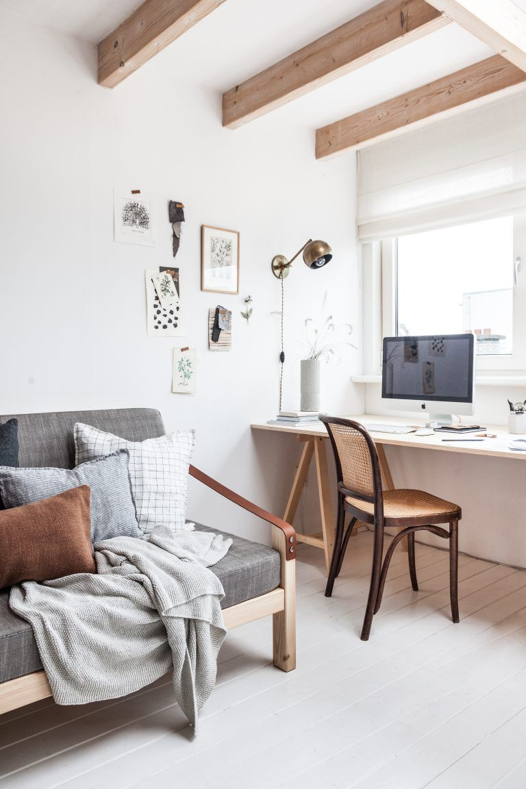 Create An Adaptable Space For The Spare Room That Seamlessly Fuses Workspace With A Comfy Welc Home Office Bedroom Guest Room Office Combo Bedroom Office Space