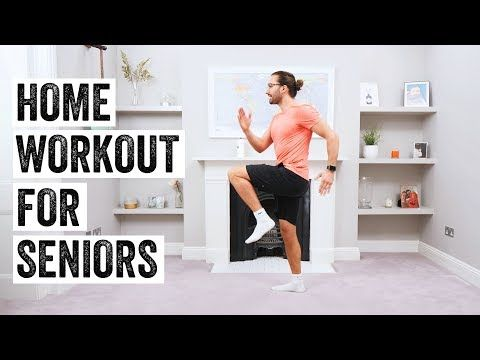 10 minute home workout for seniors  the body coach tv