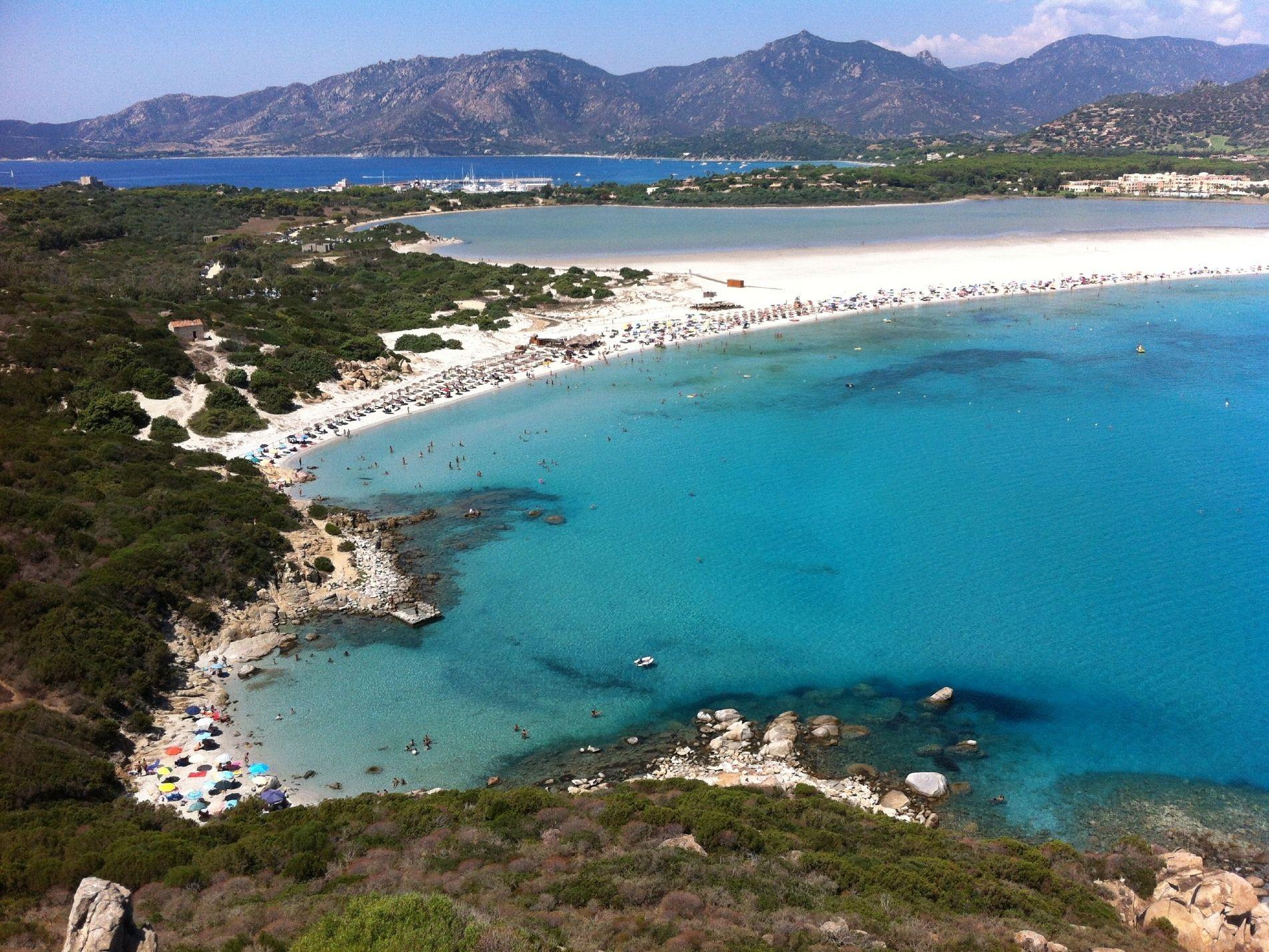 Villasimius Sardegna spiaggia di porto giunco