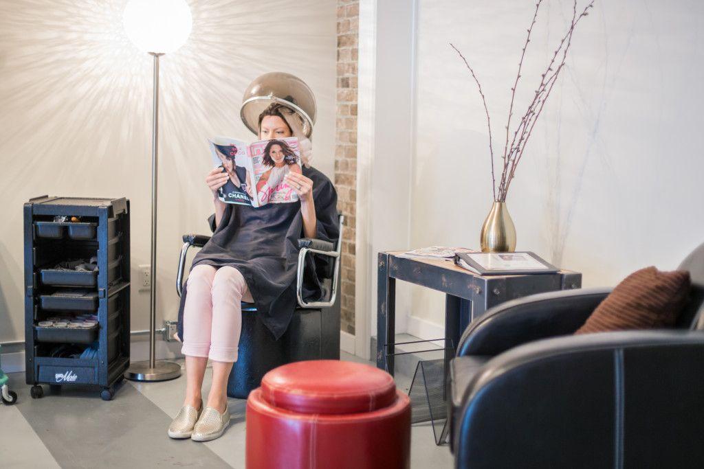 The Loft Hair Studio & Spa – Flamboyage Treatment Arrow & Lace Designs
