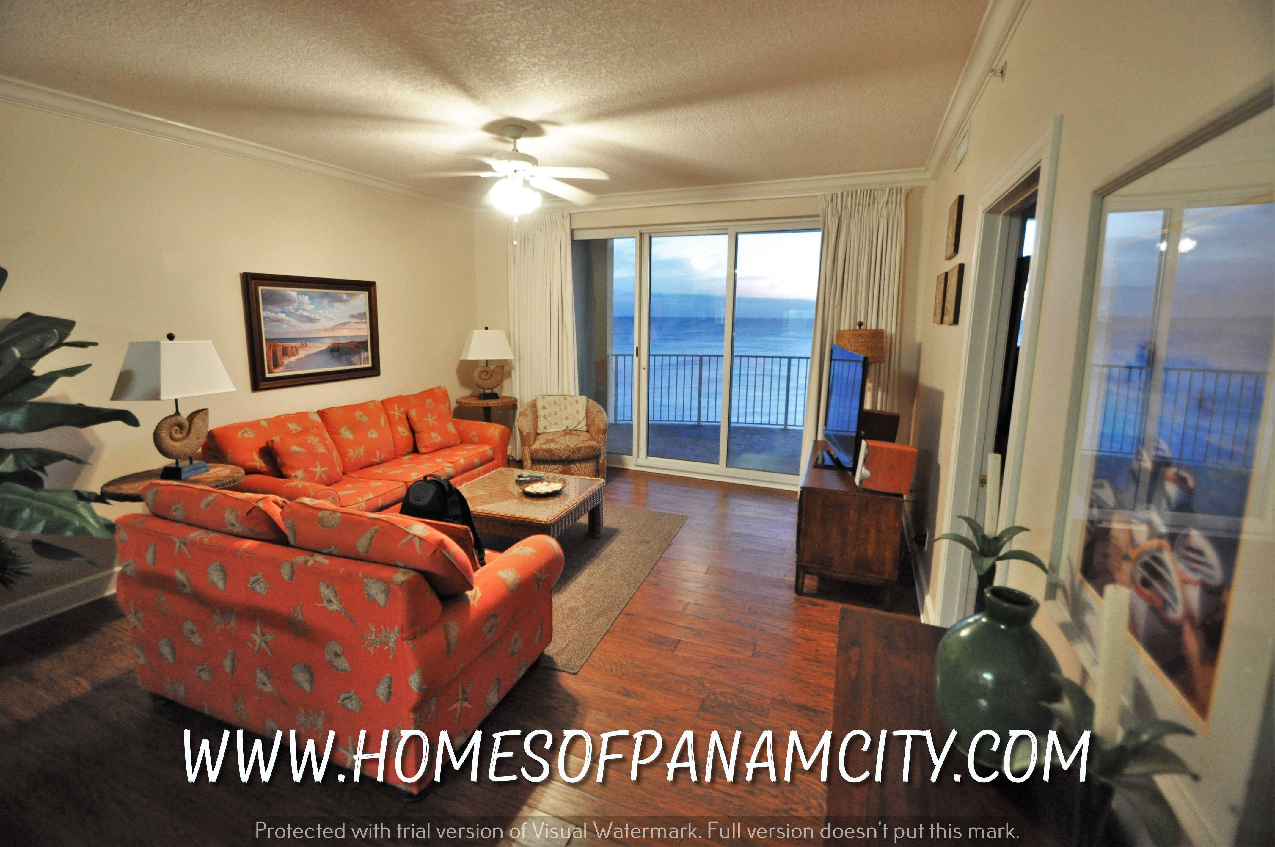10519 Front Beach Rd. #1704, Panama City Beach, FL 32407$255,000WHAT a view.. Looking for your beach getaway? AWESOME Twin Palms 2 bedroom fully furnished