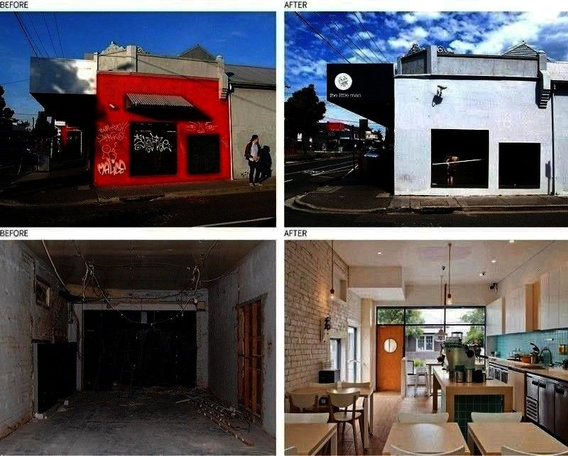 Vacant Post Office Transformed Into A Cafe WALA aka Weian Lim Architects have transformed a vacant rundown old post office into The Little Man Cafe a bright nbsp hellip B...