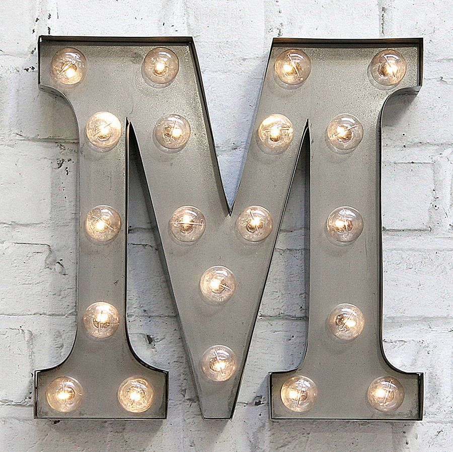 Carnival Letter Lights A To Z Rust Home Sweet Pinterest Make Series Letters From The Led Illuminated Great Personalised Gift Hung For Wall Feature Or Freestanding On Bookcase Shelf Ideal Displays Parties And