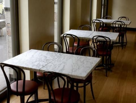Miami Cultured Marble Restaurant Table Tops B Please - White marble restaurant table tops