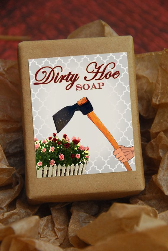 DIRTY HOE Soap Gag Gift Gifts Under 10 Handmade Funny Unique Rude Bathroom Humor