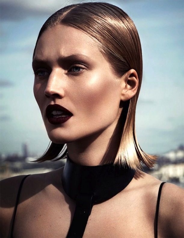 @Who What Wear - Toni Garrn Gets Her Vamp On For Interview Russia