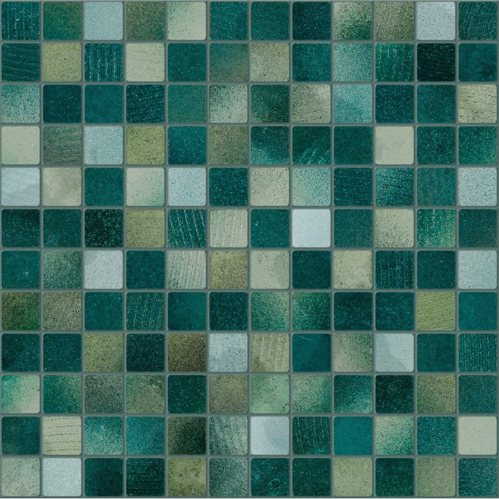 Mosaique Sol Et Mur Lavastone Vert 2 3 X 2 3 Cm Artens Sol Et