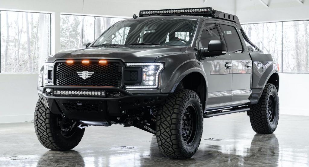 Raptor Who 85000 Mil Spec F 150 Packs 500 Hp V8 And A Baja Spec Suspension In 2020 Living In Car Mil Spec Car Inspiration