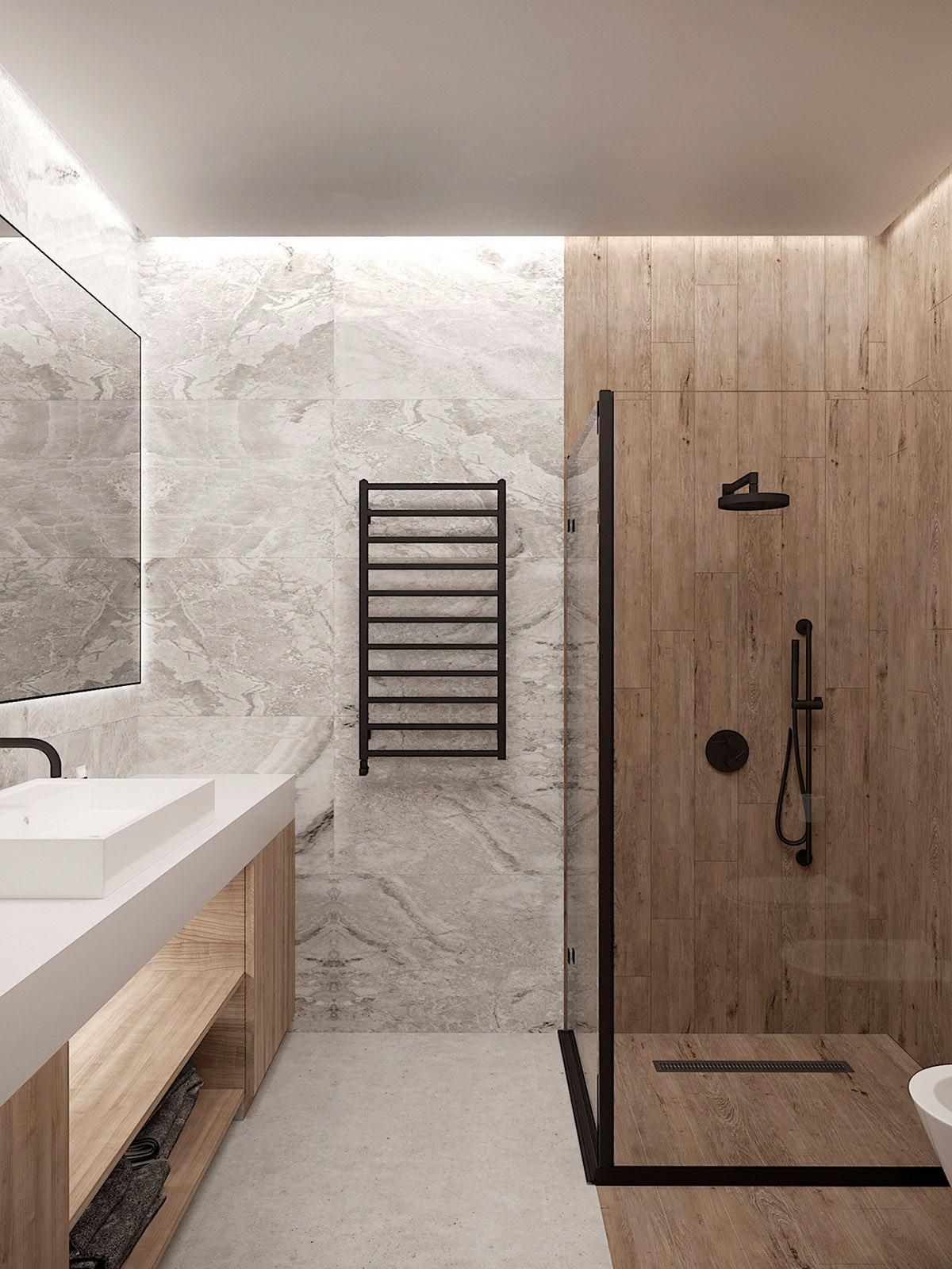 3 Small Home Interiors With Their Own Sense Of Style Homeinteriordesign Bathroom Design Small Bathroom Interior Design Small Bathroom Design Small home bathroom design ideas