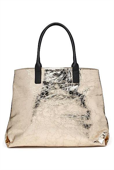 Katia Tote Bag Witchery Gold Black