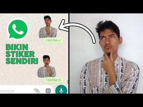 Wow Cara Membuat Stiker Whatsapp Dengan Foto Sendiri Tutorial