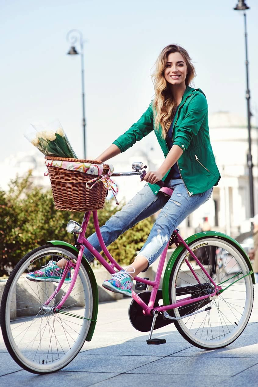 Ride your bike in style.   自転車