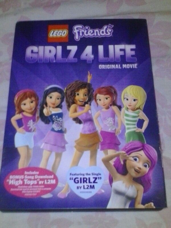 Lego Friends Of Heartlake City Girlz 4 Life Original Movie Dvd