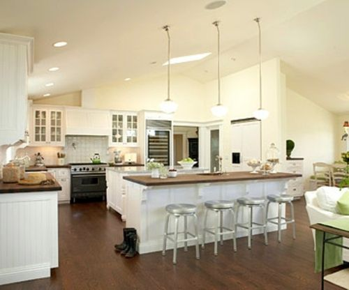 Plans For Open Kitchens Conversion And Redevelopment Interior Entrancing Islands Kitchen Designs Design Decoration