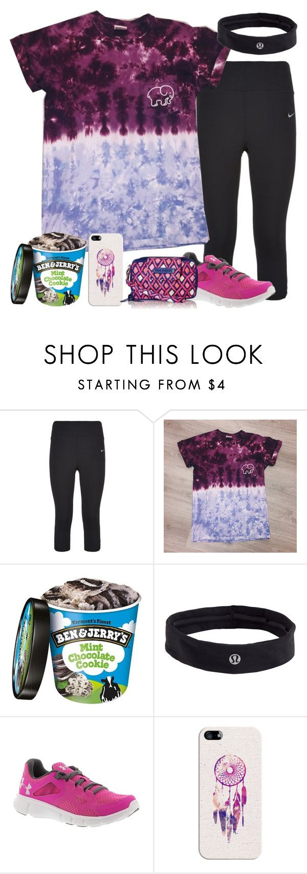 """""""Why do teachers make us write essays?"""" by mehanahan ❤ liked on Polyvore featuring NIKE, lululemon, Under Armour, Casetify and Vera Bradley"""