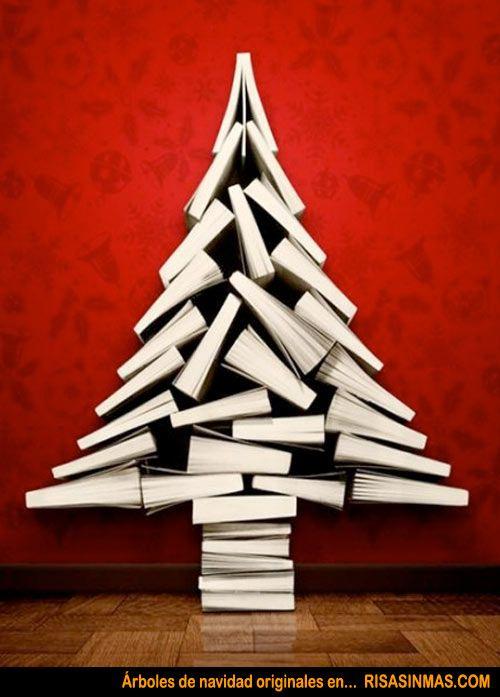 rboles de navidad originales libros