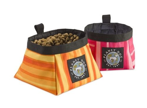 Travel Bowls Bags Sawyer S Pet Bakery And Boutique Precious