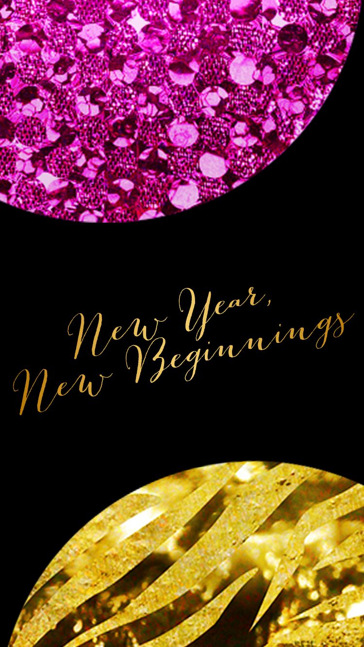 New Year New Beginnings Iphone Computer Wallpapers New Year Wallpaper Computer Wallpaper Happy New Year Wallpaper