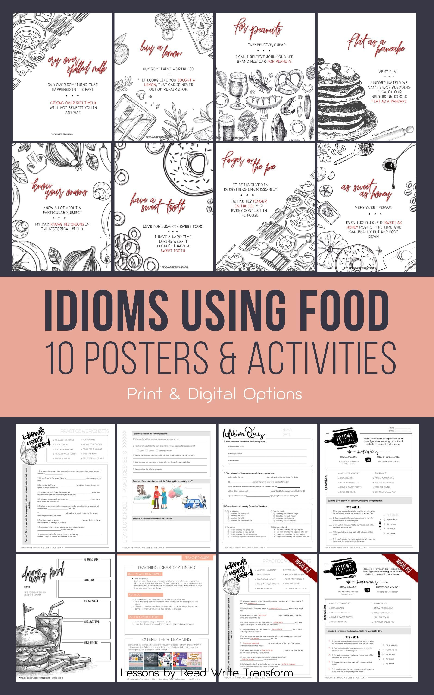 10 Idioms Using Food