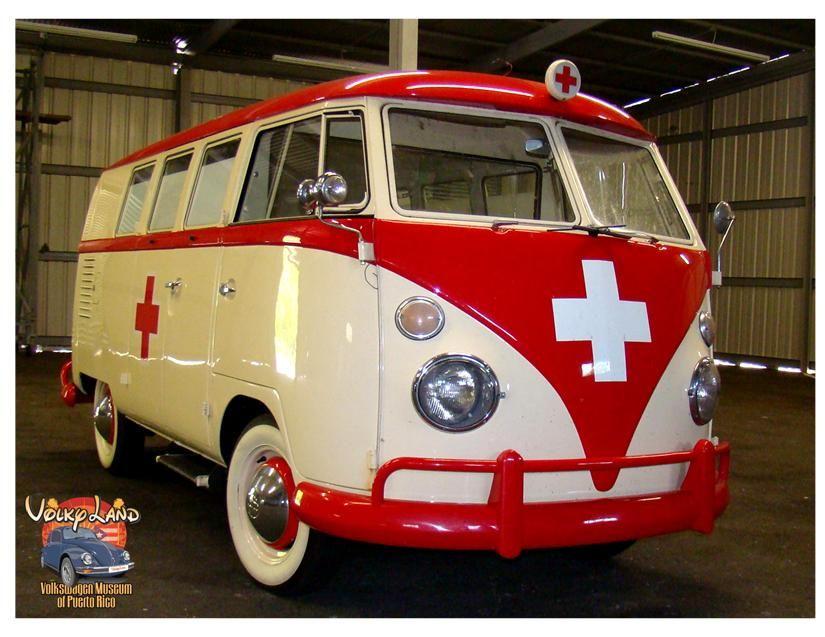 1963 VW Type 2 Ambulance Bus | VW's | Vw pickup, Volkswagen bus