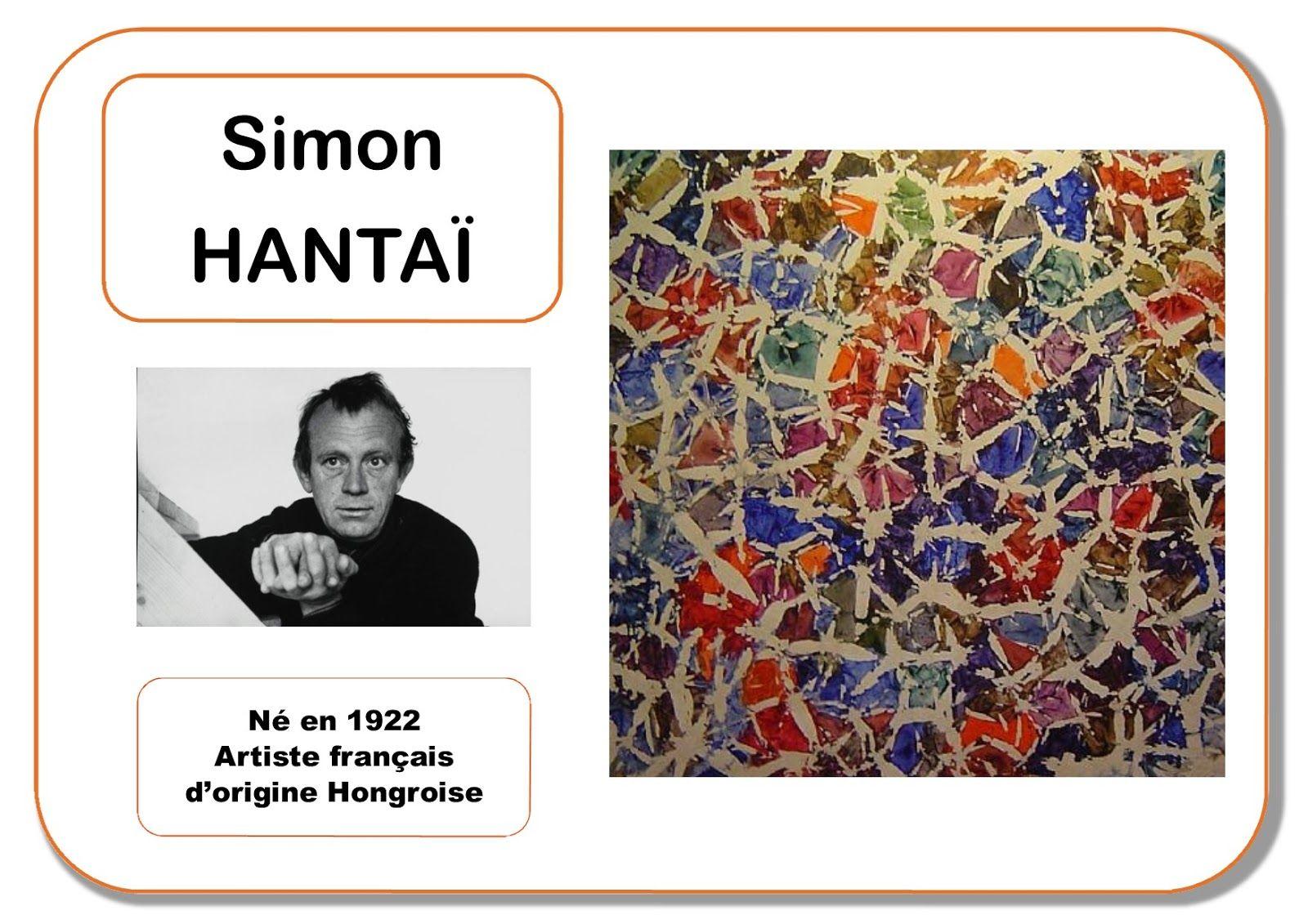Simon Hantaï - Portrait d\'artiste | Je fais de la patouille ...