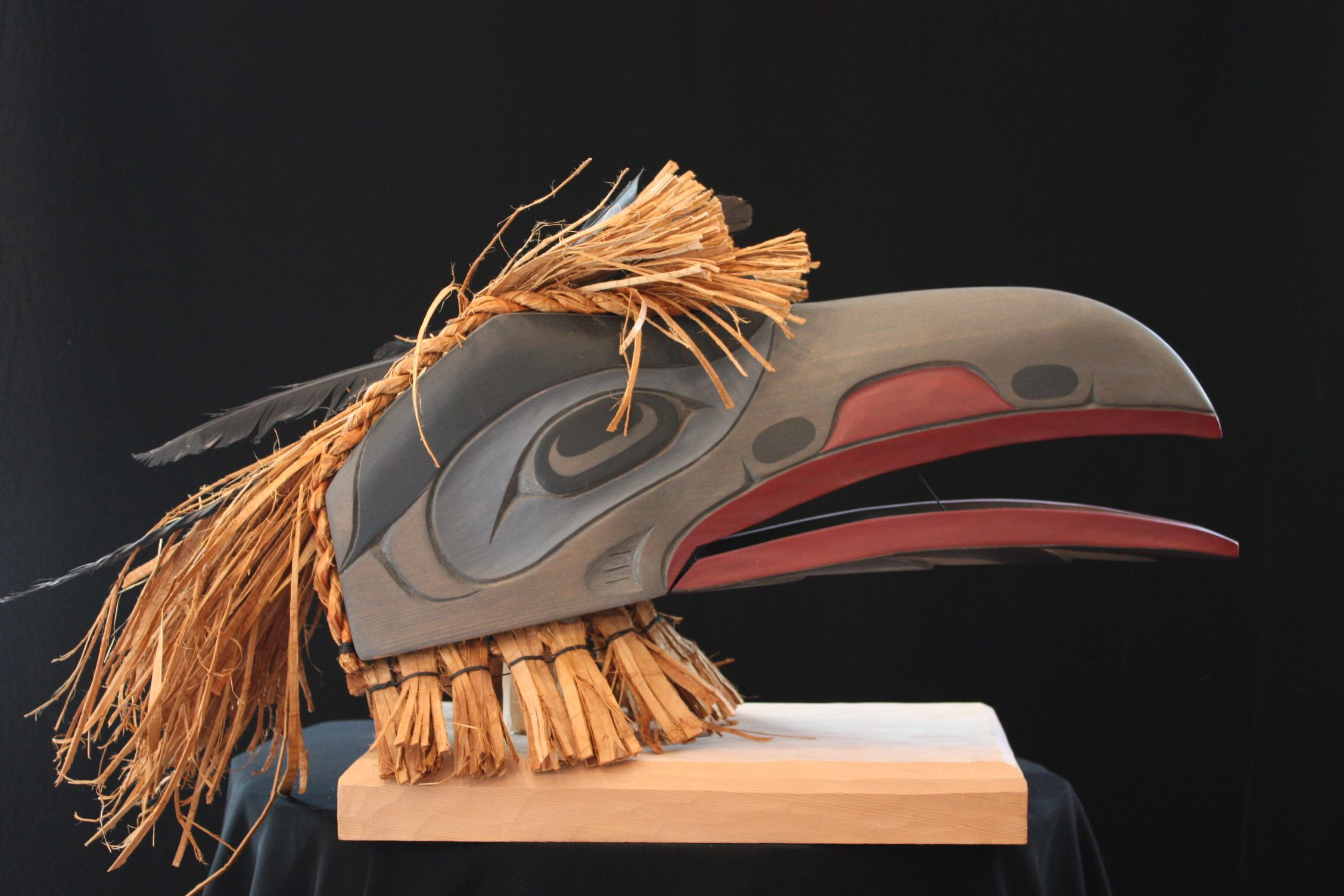 Raven Mask Curtis Wilson. Northwest Coast &