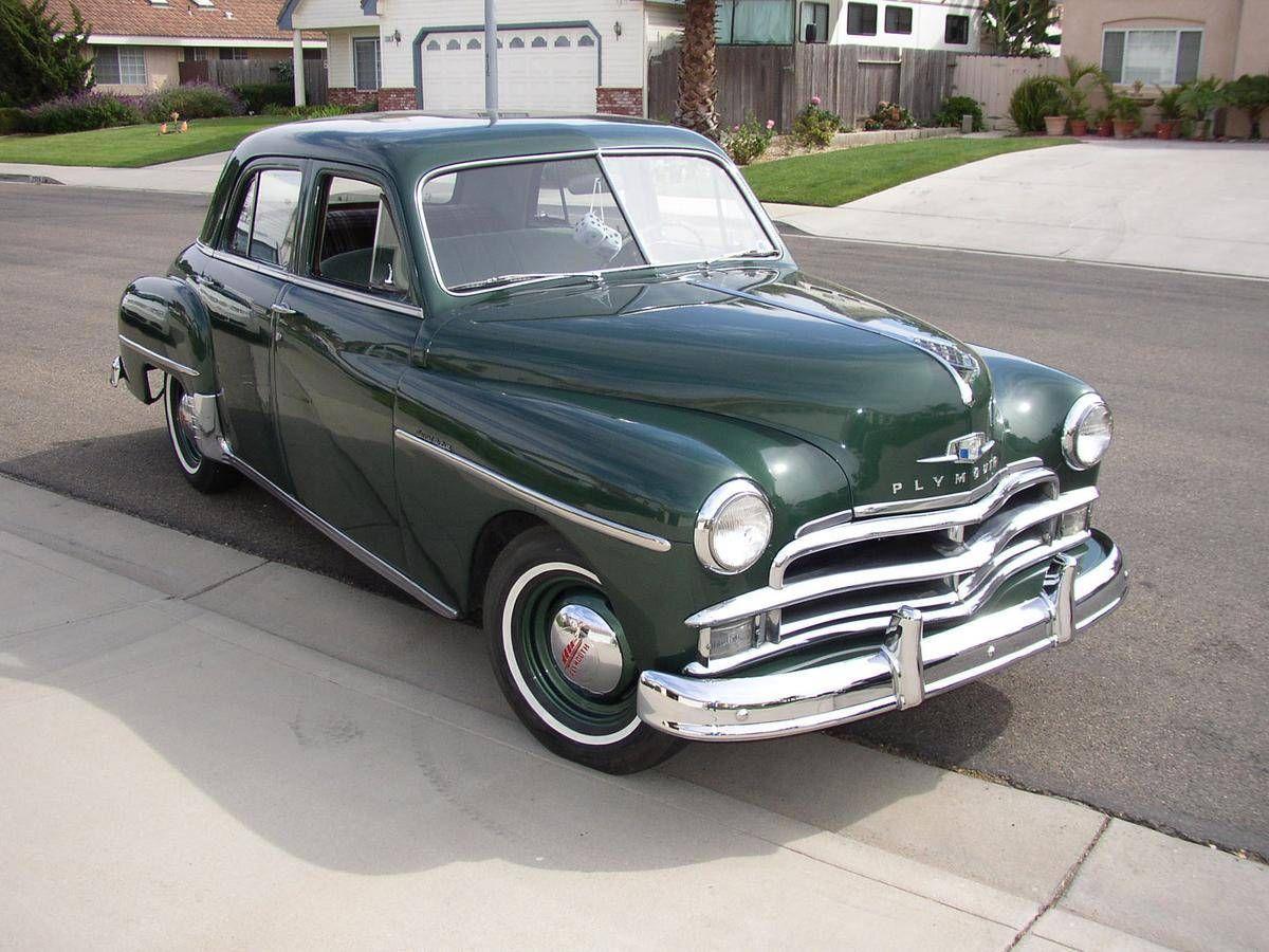 Plymouth 4 Delux Door 1940