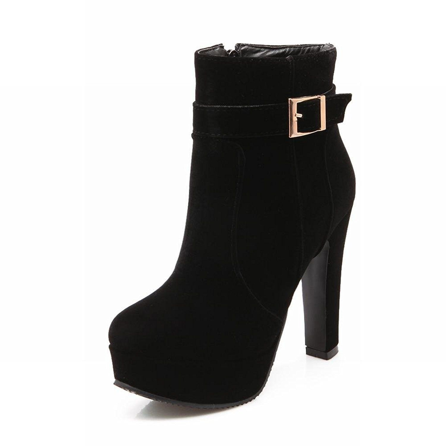 Women's Fashion Sexy Platform High Heel Dress Boots Ankle Boots