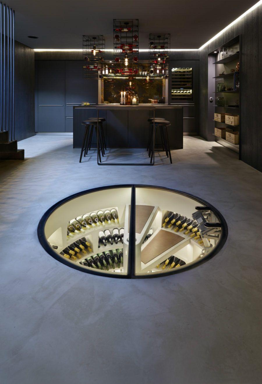 Any Connoisseur S Dream Modern Wine Cellar Designs Home Wine
