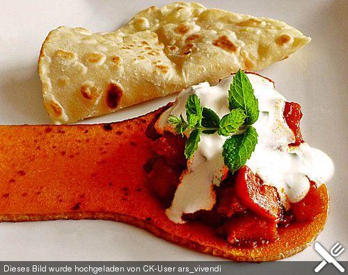 Kürbis afghanische Art Recipes - kürbissuppe rezept chefkoch