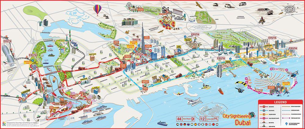 City Sightseeing Dubai Hop On Hop Off Bus Tours Viaggi Diario