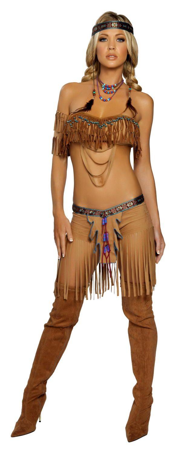 Sexy Cherokee Warrior Costume  Halloween Costumes -2272
