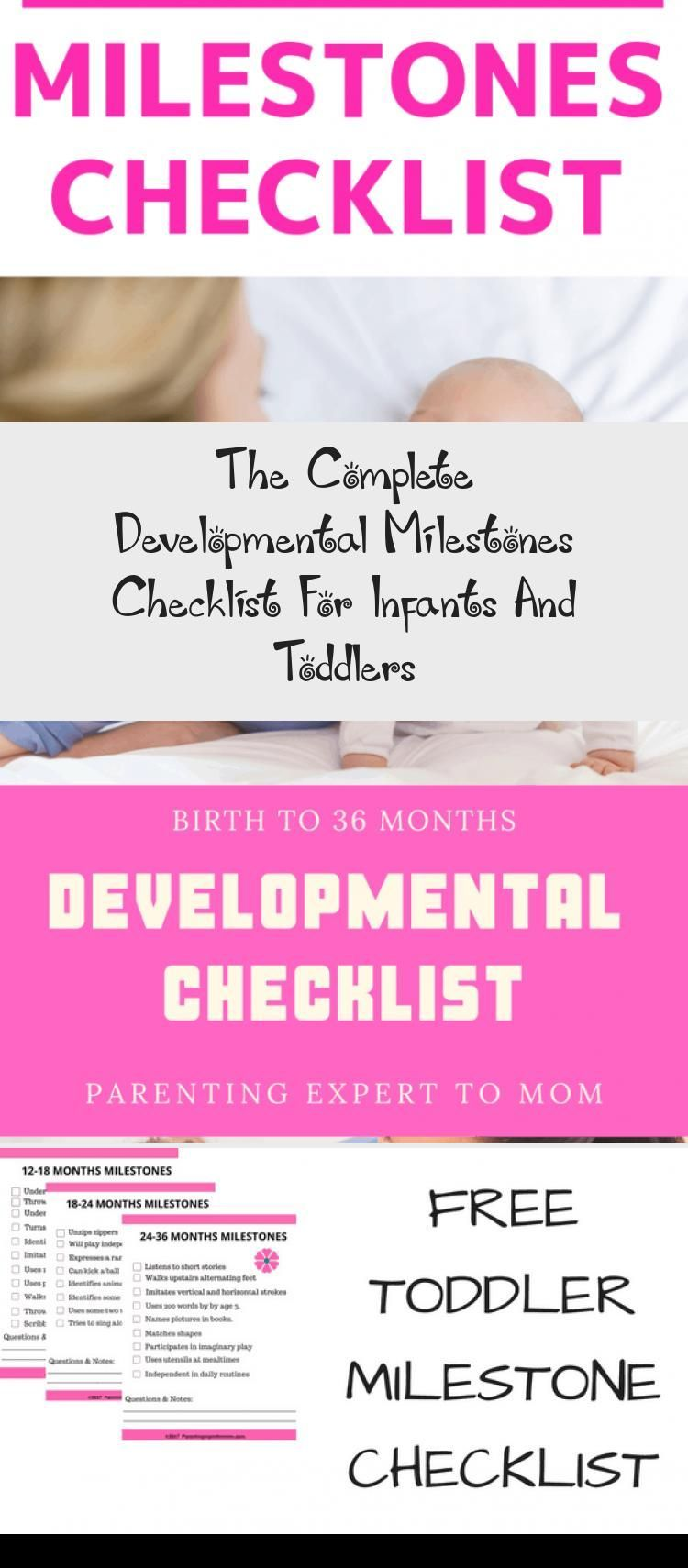 The Complete Developmental Milestones Checklist For Infants And Toddlers - health and diet fitness -...
