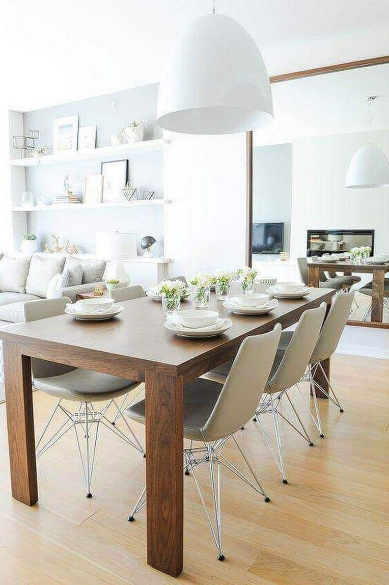 25 Lovely Contemporary Dining Room Decorating Ideas Page 23 Of 42 Small Dining Room Decor Dining Room Small Modern Dining Furniture