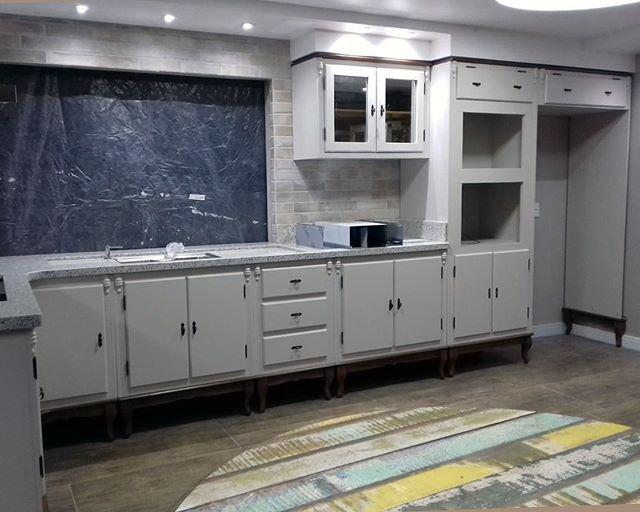 3c0b9f65e8 Cliente da Semana - Olha que inspiração mais linda da cozinha Luis XV. Luxo