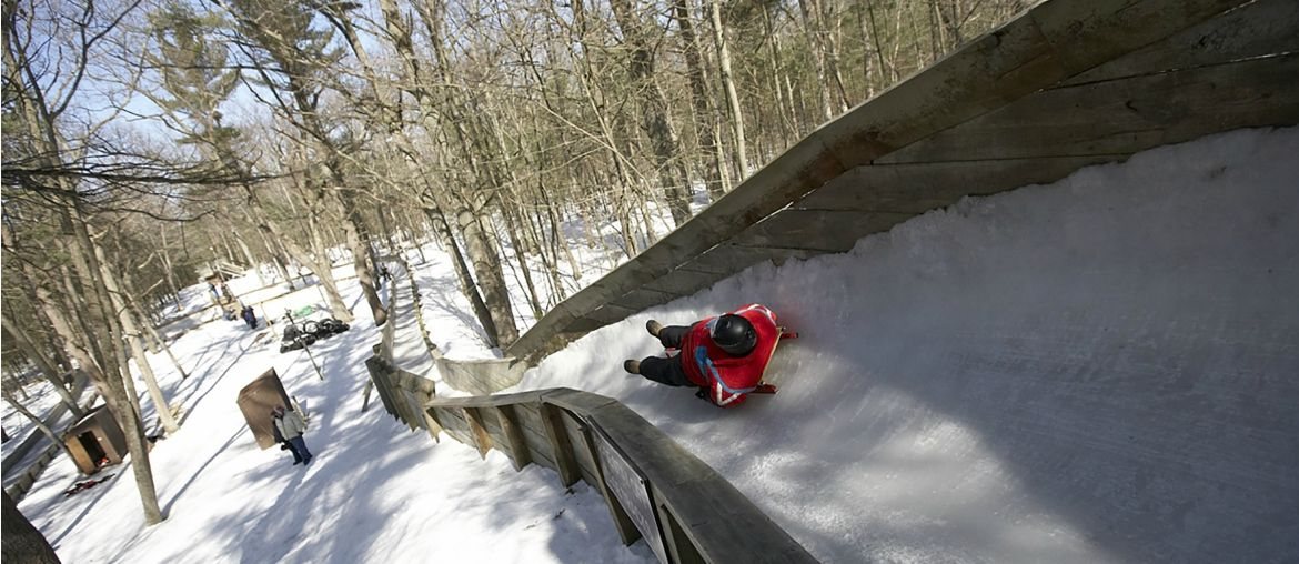 Lure of the Luge at the Muskegon Winter Sports Complex