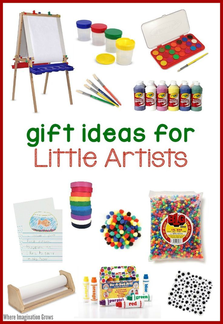 Art Supplies for Kids! Gift Ideas for Little Artists   3-6 year olds ...