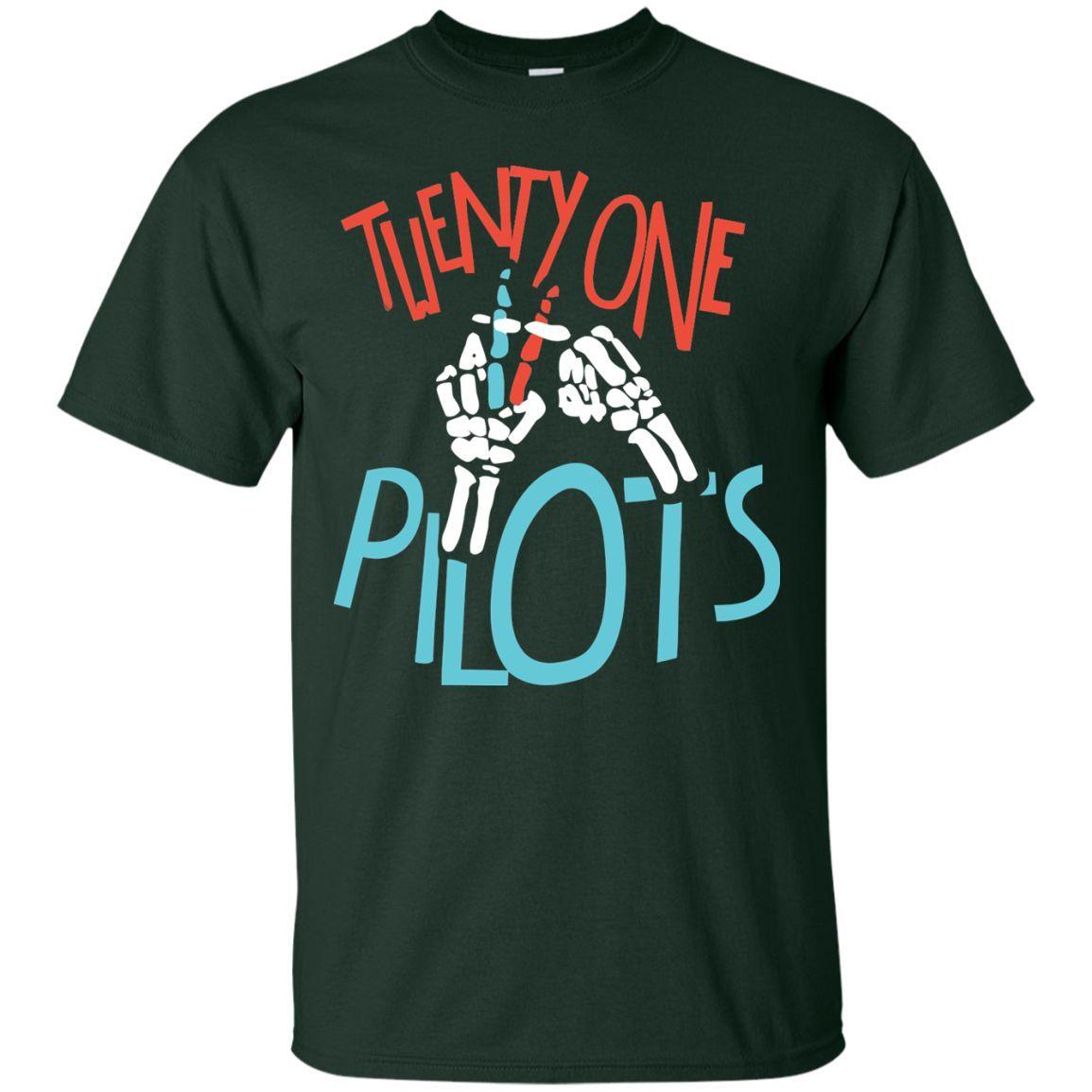 a67ee7891 21 Pilot - Twenty one Tshirt Pilot Lover | TØP | Twenty one pilots ...