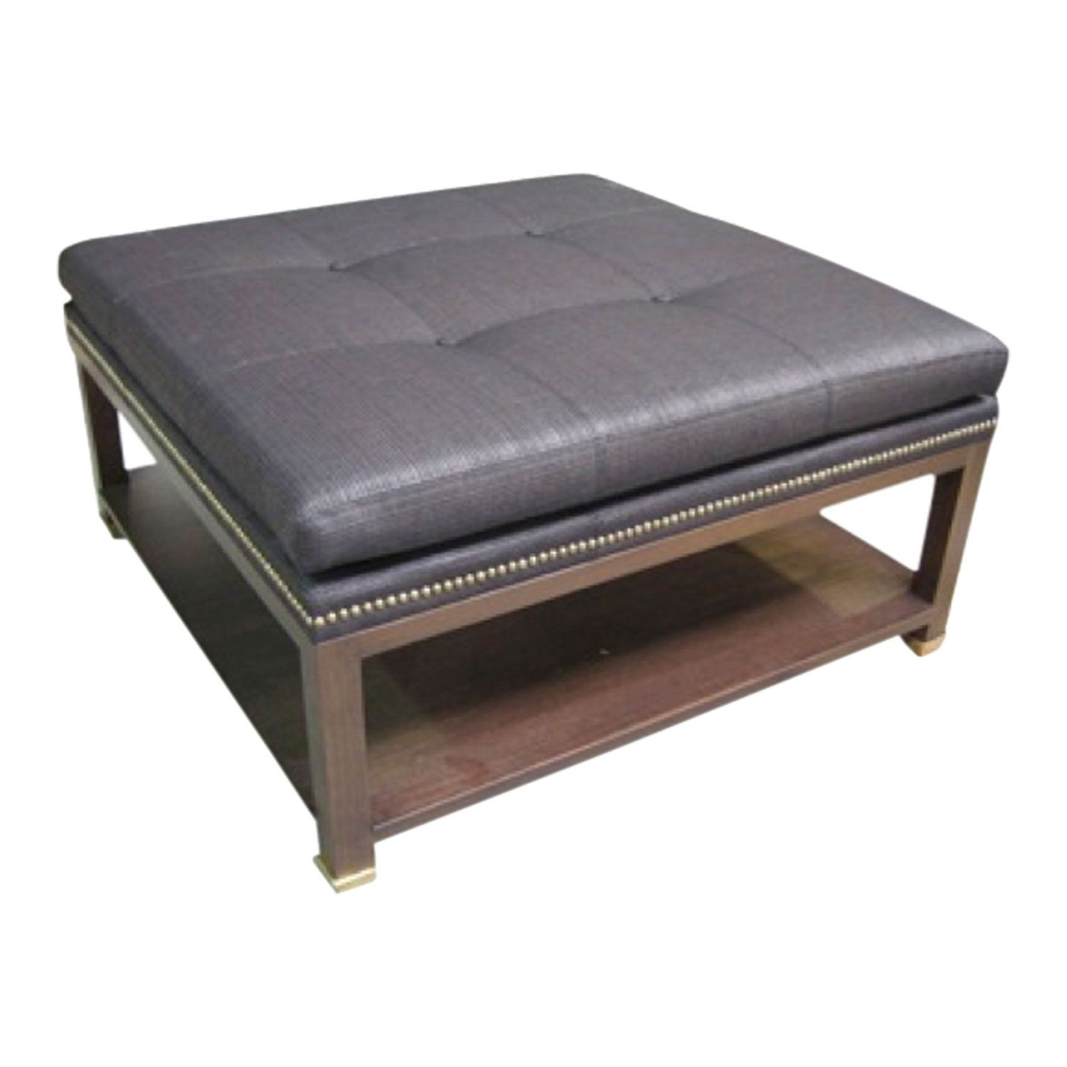 Buy Woodside Ottoman By Steven Gambrel   Made To Order Designer Furniture  From Dering