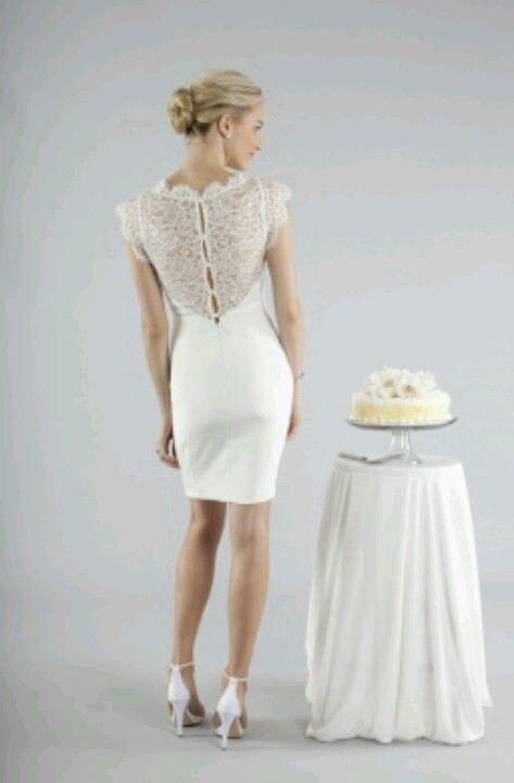 Nicole Miller Short Pencil Skirt Wedding Dress Ci0124 530